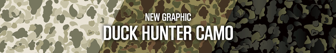 NEW GRAPHIC DUCK HUNTER CAMO